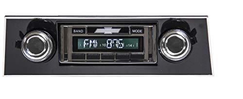 Bluetooth Enabled 1967-1968 Camaro BLACK Dash USA-630 II High Power 300 watt AM FM Car Stereo/Radio