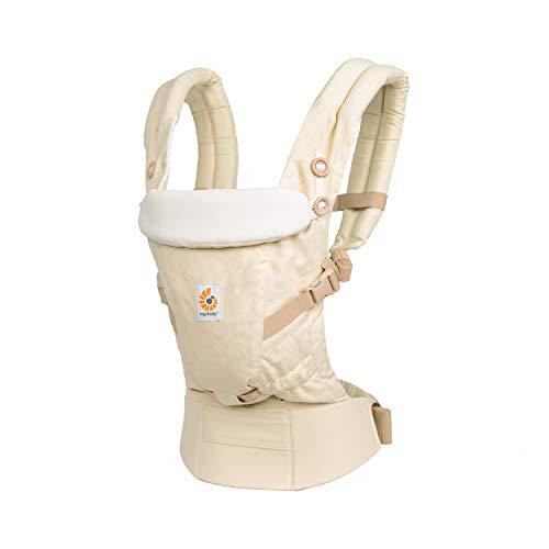 Ergobaby Adapt - Portabebés para recién nacidos, sistema 3 en 1, ergonómico, color natural