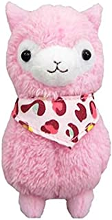 "Yes Anime Llama Bandana Alpaca 12"" Pink Plush"