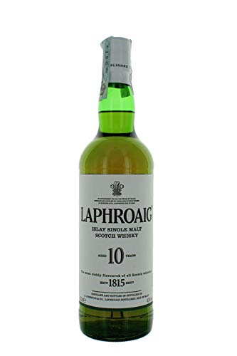 Laphroaig Scotch Whisky al Malto Puro 10 Anni, 70cl