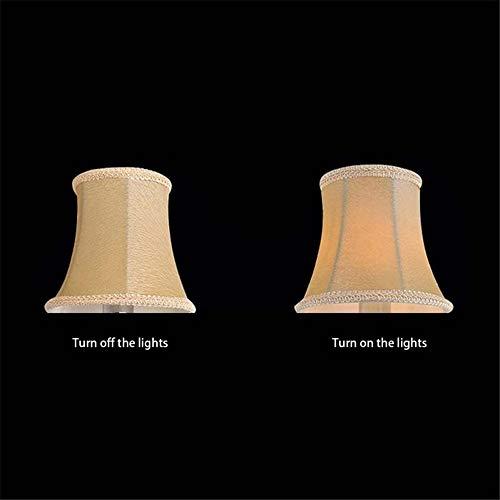 Classic Lampenkap Crystal Kaars kroonluchter Speciale Lampbedekking Exquisite Doek Covers E14 Lamp Covering Doek Shade,2