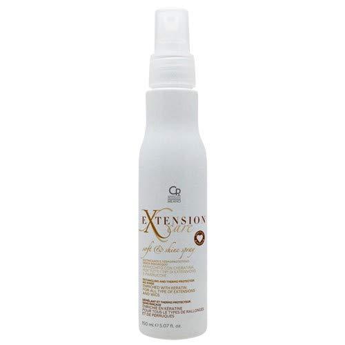 Extension Care - Spray Douceur et Lumière - Traitement Démêlant à la Kératine et Thermoprotecteur Professionnel pour les Soins et l'Entretien des Extensions de Cheveux Abîmés et Perruques - 150 ml