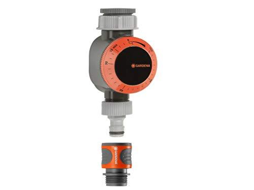 GARDENA Mechanische Wasserzeitschaltuhr mit Durchflussregelung 31169