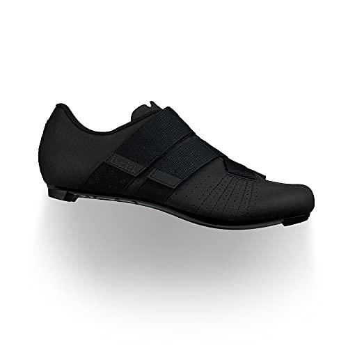 Fizik Powerstrap R5, scarpe da ciclista Unisex Adulto, nero/nero, 44