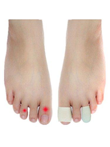 boowho 2ST Hallux Valgus silicona protector para los dedos piel cuidado para llevar suave y cómodo