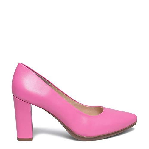 Zapatos miMaO. Zapatos Piel Mujer Hechos EN ESPAÑA. Zapatos de Salón Tacón Alto. Zapatos Cómodos de Mujer con Plantilla Gota Ultra Confort Gel