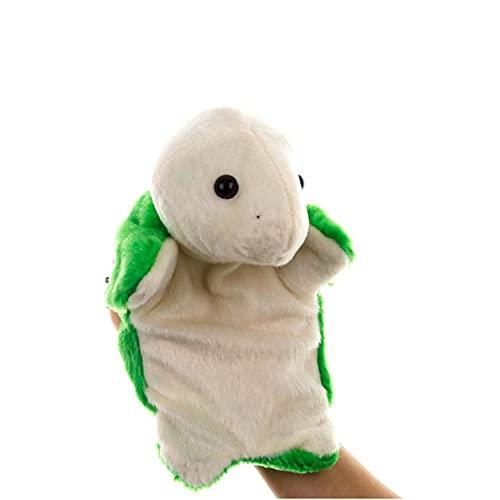 Marionetas de mano Jungle Zoo Relleno Divertido Peluche Animal Juguetes para Cuentos Enseñanza Preescolar Juguete Interactivo JXNB