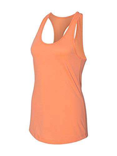 Next Level Apparel Women's Tear-Away Tank Top, Light Orange, XX-Large
