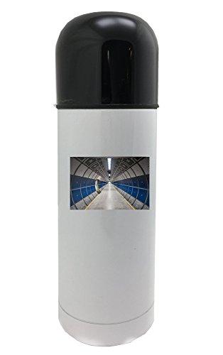 Hallway, Round, Tube, Design, Modern 350ml white thermos