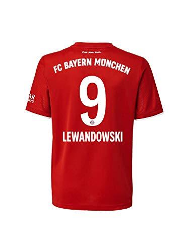FC Bayern München Home-Trikot Saison 2020/21 Mini Kit, Gr. 104, Robert Lewandowski