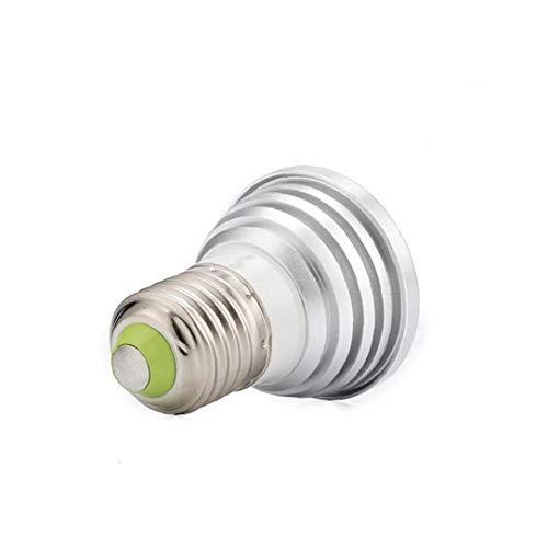Rrunzfon Bulbo Multicolor E27 LED con los Accesorios de iluminación de Control Remoto Inicio