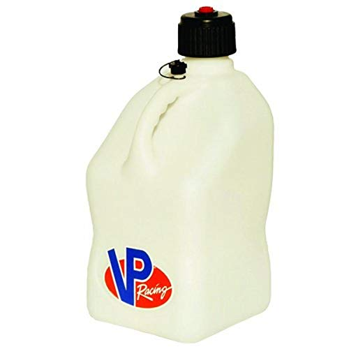 VP Racing Fuels 3522 White Motorsport Jug - 5 Gallon Capacity