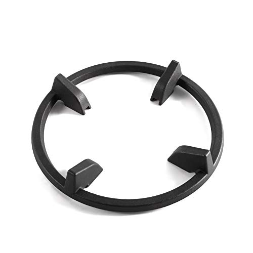 Cast Iron Wok Support Ring Burner Grate for Samsung NX58H5600SS NX60T8111SS NX58R4311SS NX58F5500SS/AA NX58J5600SG NX58M6630SS NX58R5601SS 14 Inch Wok