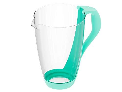 PearlCo Glas-Wasserfilter (mint) - Ersatzkanne ohne Zubehör