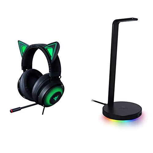 Razer Kraken Kitty RGB USB Gaming Headset + Base Station V2 Chroma: Classic Black