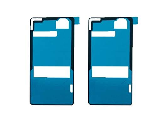 Flügel 2 x Kleber Akkudeckel Klebefolie Klebepad Back Cover Sticker Adhesive für Sony Xperia Z3 Compact Mini D5803 D5833