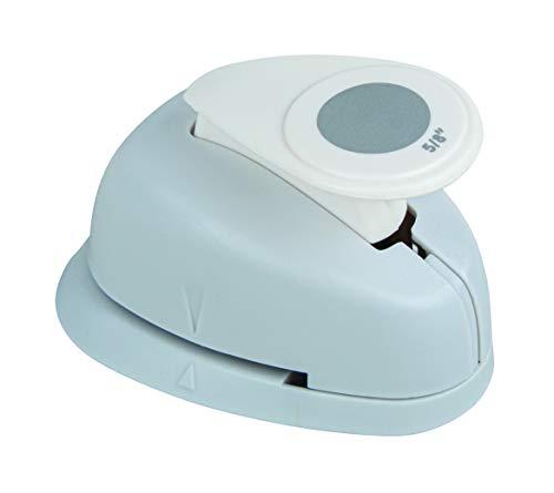 Rayher Hobby 8959700 Motivstanzer Rund/Kreis, ø 1,6 cm- 5/8 Zoll, geeignet für Papier/Karton bis zu 200g/m²