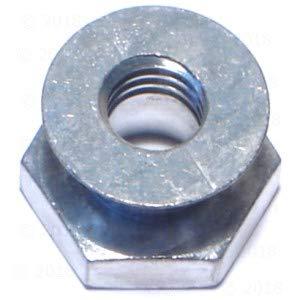 3/8-16 Breakaway Nut Zinc (6 pieces)