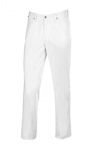 BP 1669-686-21-50n Jeans für Männer, Stretch-Stoff, 230,00 g/m² Stoffmischung mit Stretch, weiß ,50n