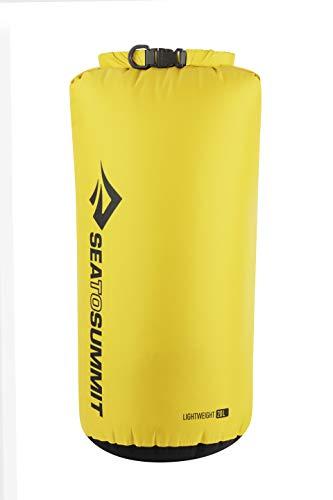Sea to Summit Lightweight 70D Dry Sack-20 litros Saco Montañismo, Alpinismo y Trekking, Adultos Unisex, Amarillo (Yellow), Talla Única