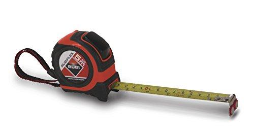 RUBI 75901 Flexómetro, Gris, 5 m x 19 mm