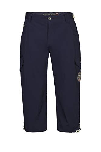 G.I.G.A. DX Men Capri Pants Libarko, Couleur:Navy, Taille:56