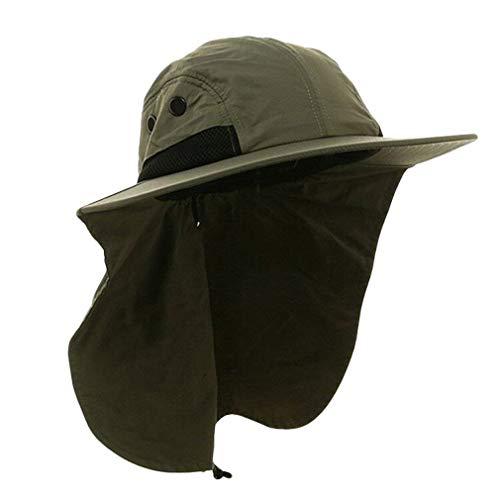 Sombrero Ancho para Hombre Safari Outback con Protección...