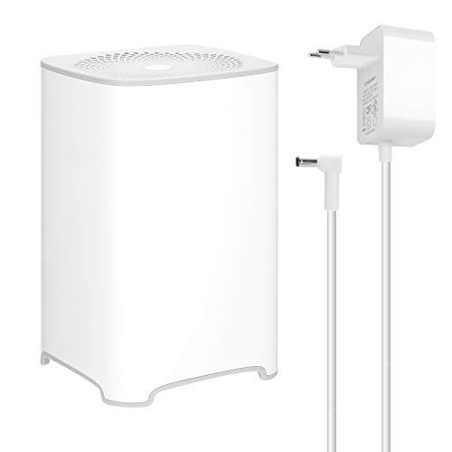 Purificador de aire de escritorio para el hogar 4 modos ajustables para oficina en casa con luz indicadora