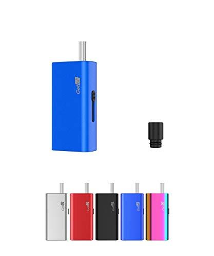 電子タバコ 加熱式たばこ ヴェポライザー Airistech Gethi G6 葉タバコ シャグ Vaporizer ドライハーブタバコ エアリステック オマケ付き (ブルー)
