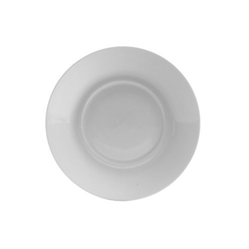"10 Strawberry Street Royal White 6.25"" Saucer Only, Set of 6, White"