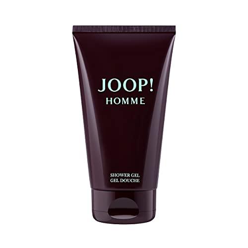 JOOP! Homme Shower Gel for him, Duschgel für Herren, orientalisch-blumig-holziger Duft für den geradlinigen Mann, 150 ml