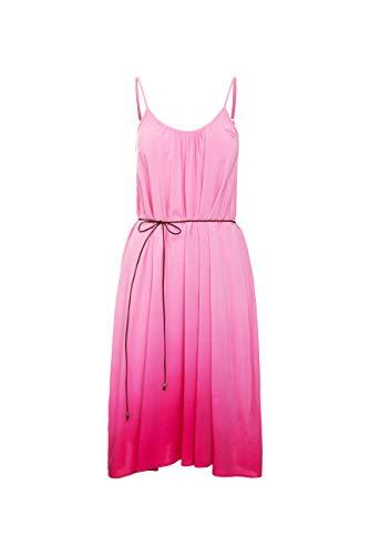 SOCCX Damen Trägerkleid mit Dip-Dye-Effekt