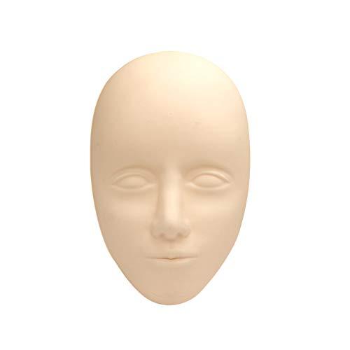 5D Facial Tattoo Training Head Pratique En Silicone Maquillage Permanent Lèvres Sourcils Tatouage Peau Mannequin Poupée Visage Tête