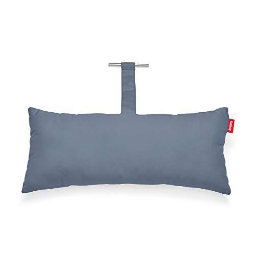 Fatboy® Headdemock Superb Pillow stahlblau   Hängematten-Kissen   Gemütliches Outdoor Hängematten-Kissen   70 x 30 x 13 cm