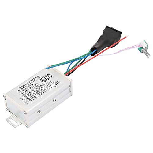 Weikeya Controlador de Velocidad del Motor, regulador de modulación de Ancho Industrial 15KHz Metal y componentes electrónicos Hechos DC9-60V