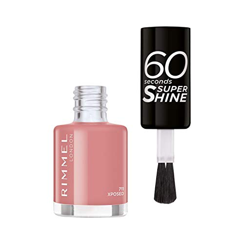 Rimmel Nagellack 60 Sekunden Super Shine Colour Block 711 Xposed 8 ml
