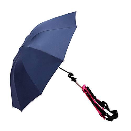 ZHEDAN Sonnenschirm-Regenschirm, 360-Grad-Umdrehung Regenschirm, Sonnenschirm, UV-Schutz-Reise-Regenschirme, Für Das Fischen, Gartenarbeit, Strand