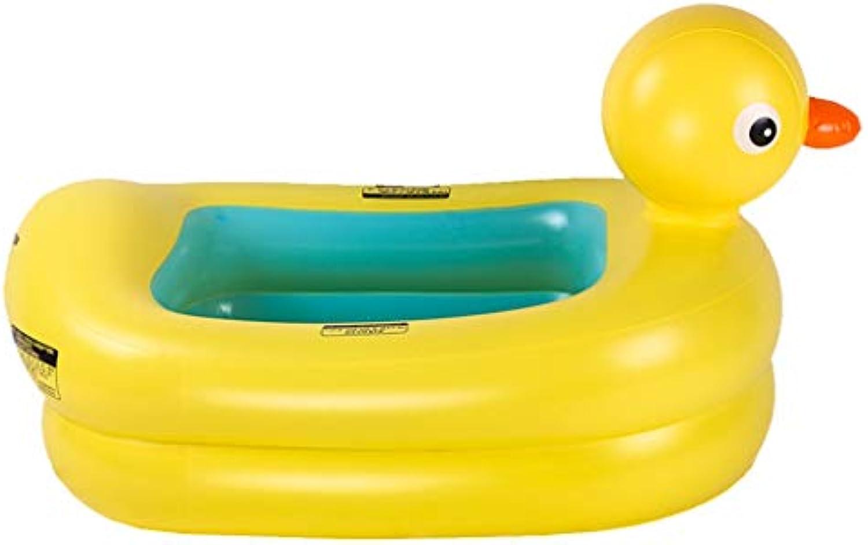 Aufblasbare badewanne für Kinder gro Aufblasbare Badewanne, Kinderpool faltender Babywanneimer (Farbe   B)