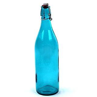 Bormioli Rocco Giara Sky Blue Glass Bottle With Stopper 33 3/4oz (B003R0CLHK) | Amazon price tracker / tracking, Amazon price history charts, Amazon price watches, Amazon price drop alerts