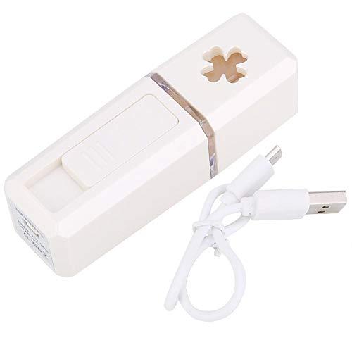 Cafopgrill Pulvérisation de Brume fraîche Handy Mist Spray Pulvérisation de Poche Pulvérisation à Froid Humidificateur Brumisation Atomisation Pulvérisation de Visage Recharge USB(Blanc)