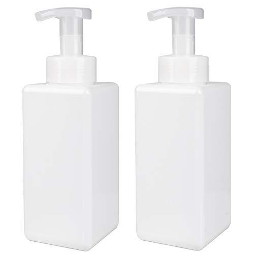 JiatuA Dispensador de jabón de espuma de 650 ml, 2 unidades, dispensador...