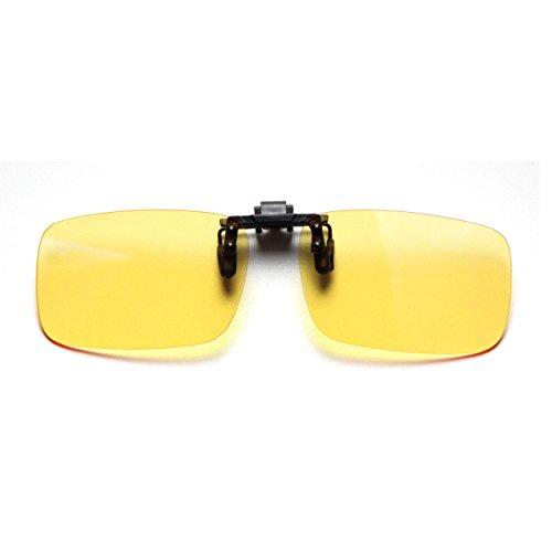 Cyxus Blue Light Filter (Clip On) Computer Glasses, UV Blocking Anti Eye Strain Unisex Reading Eyewear