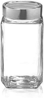 Famacart Cube Jar 800 ml/Clear