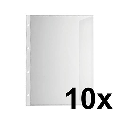 100x LEITZ 4704-00-00 Prospekthüllen oben offen PP 0,10mm Sichthülle NEU /& OVP