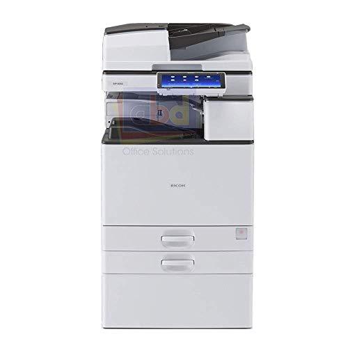 Used Ricoh Aficio MP 3555 Tabloid/Ledger-Size Monochrome Laser Multifunction Copier - 35ppm, Copy, Print, Scan, Auto Duplex, Network, 1200x1200 DPI, 2 Trays, Stand (Renewed)