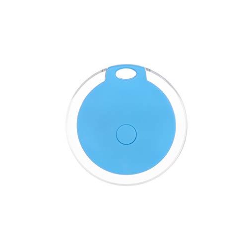 Joe Boxer Haustiere Smart-Mini-GPS-Tracker Anti-Verlorene Wasserdichtes Bluetooth Tracer Keys Alarm Platz Locator Realtime Finder Ausstattung Gerät,Blau