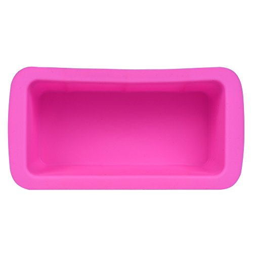 Silicone Bread Mold,Easy release and baking mold for Homemade Cakes, Breads, Meatloaf and Quiche,Food Grade Nonstick Professional Silicone Bread and Cake Trays,Best Silicone Loaf and Bread Pan