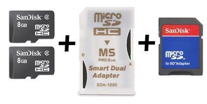16GB Combo Memory MS Pro Duo FOR Sony PSP & Sony Cybershot Digital Camera & Sony Webbie