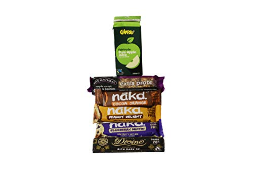Vegan Bars Hamper Unless Expressly Sweet Chocolate Treat Savory Handmade Selection Hamper Gift Bar Snack