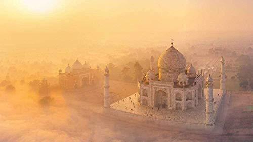 Puzzel for Volwassenen 1000 Stuks, Taj Mahal, decoupeerzaag Decompressie speelgoed dat zijn goed for je lichaam en geest ( Size : 1500 Pieces (87*57cm) )
